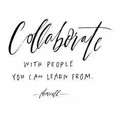 collaborate typography