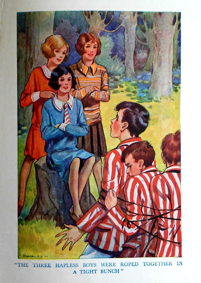 Things I found in the attic… Vintage Books for Girls