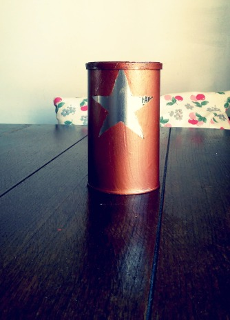 copper coffee can